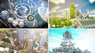 getlinkyoutube.com-5 Incredible CITY Maps In Minecraft!