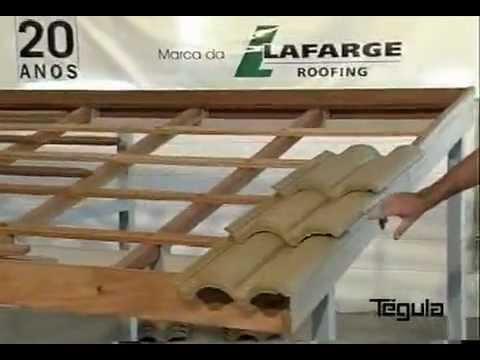 Como fazer telhado de amianto