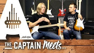 getlinkyoutube.com-Andy Timmons 2014 Ibanez Interview with Capt Anderton