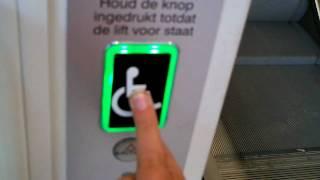 getlinkyoutube.com-Better 1st retake of the Aritco wheelchair elevator @ Action in Grootebroek + automatic gate
