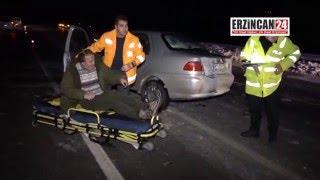 Buzlanma Beraberinde Kaza Getirdi: 4 Yaralı
