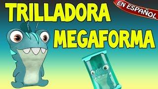 getlinkyoutube.com-TRILLADORA MEGAFORMA   Bajoterra / Slugterra Slug it out ! [ESPAÑOL]