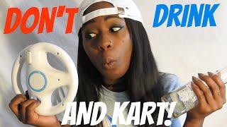 getlinkyoutube.com-DON'T DRINK AND KART | Allicattt