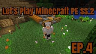 getlinkyoutube.com-Let's Play Minecraft PE SS.2 EP.4 ฟาร์มฟักทอง