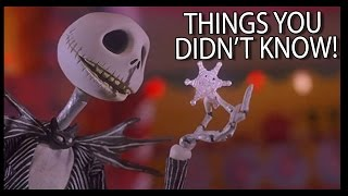 getlinkyoutube.com-7 Things You (Probably) Didn't Know About The Nightmare Before Christmas!