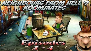 getlinkyoutube.com-Neighbours From Hell 9 Roommates - Episodes 1-4 [100% walkthrough]