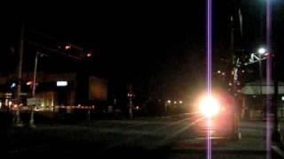 MBTA Crosses 126 At Night 2