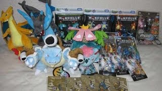 japan pokemon center mega charizard x y venusaur plush toy charm figure review