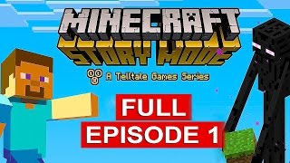 getlinkyoutube.com-Minecraft Story Mode Gameplay Walkthrough Part 1 [1080p HD] Full Episode - No Commentary
