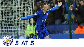 5 AT 5 | Five Of The Best Goals From Jamie Vardy