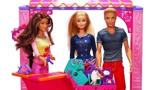 getlinkyoutube.com-Barbie ve Ken Market Alışverişinde - Cicibiciler Her Yerde!