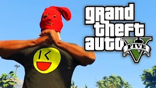 GTA 5 Online - DON'T MESS WITH THE STOCKING MASK! (GTA V Online)