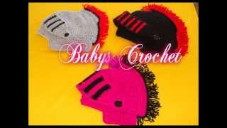 getlinkyoutube.com-GORROS DE ROMANO A CROCHET