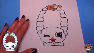 "getlinkyoutube.com-How to Draw Shopkins Season 4 ""Jules"" | Toy Caboodle"