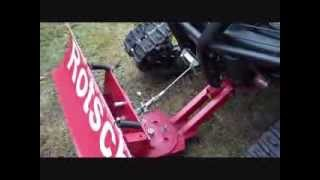 getlinkyoutube.com-ATV-King Quad 700 Selbstbau Schneeschild (Home Made Snowplow ATV)
