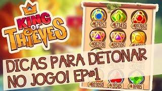 getlinkyoutube.com-King of Thieves - COMEÇANDO BEM! (Série de Dicas #1)