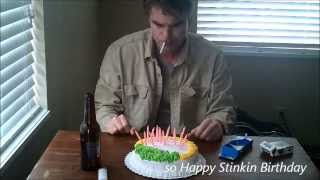 getlinkyoutube.com-Happy Stinkin Birthday (funny happy birthday song)