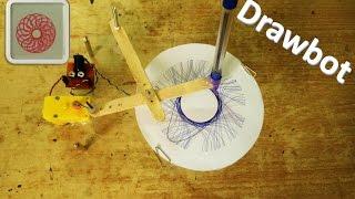 getlinkyoutube.com-How to make a drawing robot – Spirograph – DIY Robot