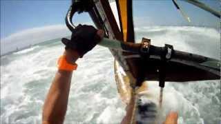 getlinkyoutube.com-windsurfing Pozo Gran Canaria with gopro camera Rider: Ronald Stout