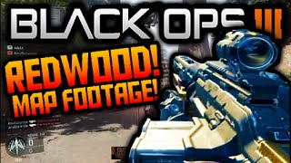 "getlinkyoutube.com-Call of Duty Black Ops 3 ""REDWOOD"" MULTIPLAYER  MAP Gameplay + PURIFIER WEAPON FIREBREAK SPECIALIST"