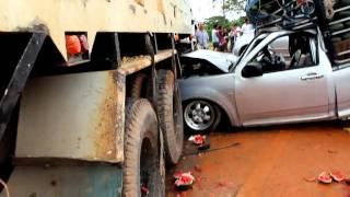 getlinkyoutube.com-คลิปภาพอุบัติเหตุรถชน กม 10 ท่าโรงช้าง สุราษฎร์ธานี