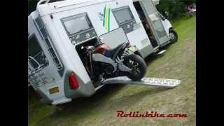 getlinkyoutube.com-Motor in camper - systeem van Rollinbike.com