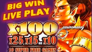getlinkyoutube.com-LAMP OF DESTINY SLOT **BIG WIN** - LIVE PLAY!! - Slot Machine Bonus