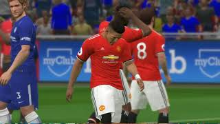 FA CUP Final | Chelsea vs Manchester United | Full Match HD | Gameplay PC | PES 2017| 19/05/2018 |