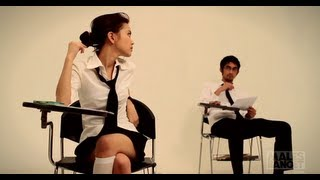 getlinkyoutube.com-WARNING: Sexy Video! Cara Mencontek 2: Kerjasama