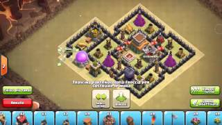 getlinkyoutube.com-CLASH OF CLANS TH8 WAR AIR SWEEPER  MUNICIPIO LIVELLO 8