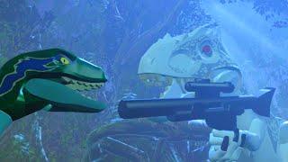 LEGO Jurassic World Indominus Rex The New Raptor Alpha!