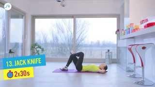Trening w 15 minut - płaski brzuch