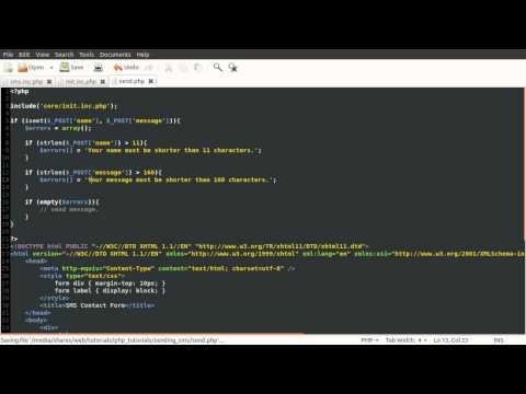 PHP Tutorial: Sending SMS (Text Message) [part 02]