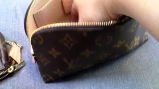 getlinkyoutube.com-Louis Vuitton Mini Pochette and Cosmetic Pouch Comparison