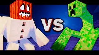 """getlinkyoutube.com-MUTANTS SNOWS GOLEMS VS MUTANTS CRIPERS! Битва мобов в Minecraft! #22 """"Mob Battle"""""""