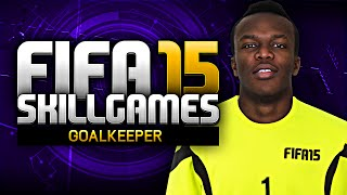 getlinkyoutube.com-BLACK GOALIE!!! - FIFA 15 SKILL GAMES