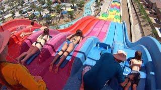 getlinkyoutube.com-Desert Racers Water Slide at Wet'n'Wild Las Vegas