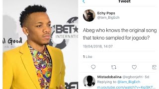 Tekno accused of Stealing Song Jogodo, & Will be taken to court & Sued.