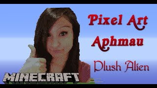 getlinkyoutube.com-Minecraft Pixel Art SpeedBuild | Aphmau
