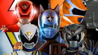 getlinkyoutube.com-Power Rangers SPD - Future Morph