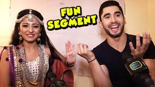 getlinkyoutube.com-Fun Interview : Mahima Makwana &  Laksh Lalwani aka Manasvini & Madhav Of Adhuri Kahaani Hamari