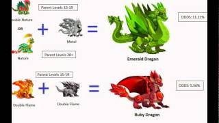 getlinkyoutube.com-How to Breed Exclusive Dragons in Dragon City New!!!