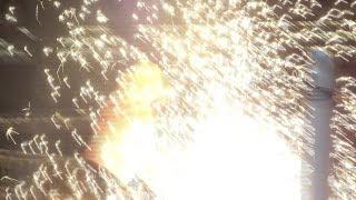 getlinkyoutube.com-20140504 大仁田 勝利 ノーロープ有刺鉄線電流爆破&最強爆破バットW地獄デスマッチ