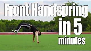 getlinkyoutube.com-Learn Front Handspring in 5 Minutes | ASAP