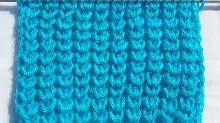 getlinkyoutube.com-Easy Jaali Design for Baby Sweater / Frock [HINDI] | Easy Knitting