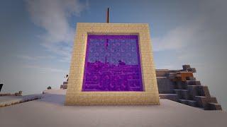 getlinkyoutube.com-Minecraft - How to make a Portal to REAL LIFE!! (No mods)