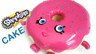 getlinkyoutube.com-Shopkins D'lish Donut Cake | how to make from Creative Cakes by Sharon