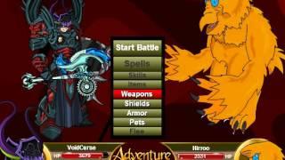 getlinkyoutube.com-Adventure Quest: Warlord of Nulgath (Ultra-Rare GGB Armor)