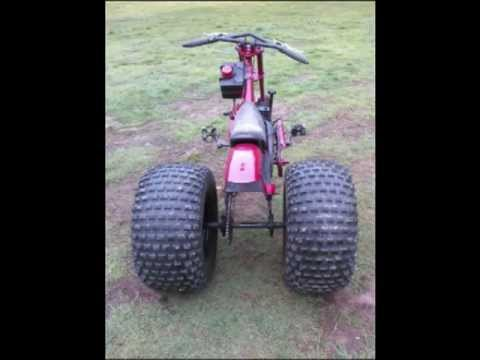 schwinn stingray occ chopper trike homemade motorized bicycle