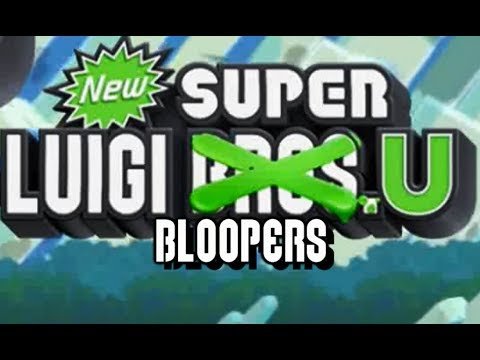 New Super Luigi U Bloopers: The Nabbit Who Nabbed Christmas